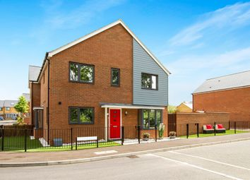Thumbnail 3 bedroom semi-detached house for sale in Twiselton Heath, Stratford Park, Wolverton
