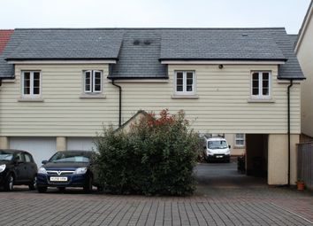 Thumbnail 2 bed flat to rent in Underhay Close, Dawlish