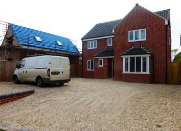 Thumbnail 5 bed detached house to rent in Friday Street, West Row, Bury St. Edmunds