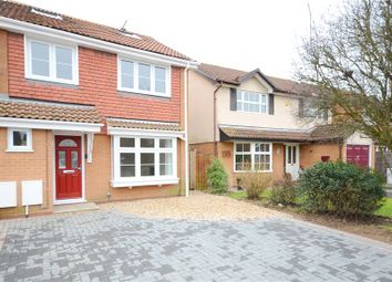 Thumbnail 4 bed semi-detached house for sale in Chatteris Way, Lower Earley, Reading