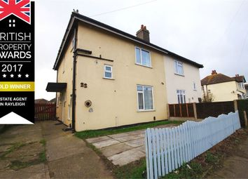 Thumbnail 3 bed semi-detached house for sale in Elm Road, Shoeburyness, Essex