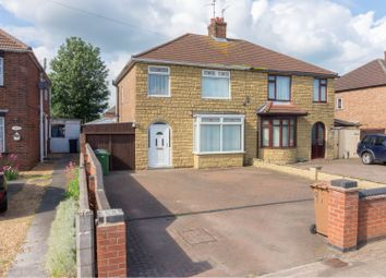Thumbnail 3 bed semi-detached house for sale in Whittlesey Road, Peterborough