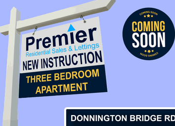 Thumbnail 3 bed flat for sale in Donnington Bridge Road, Oxford