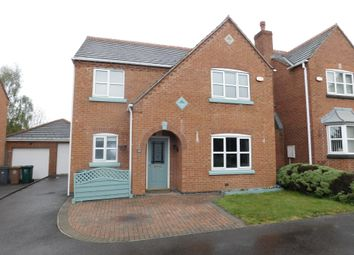 Thumbnail 4 bedroom detached house for sale in Coronation Street, Swadlincote