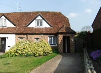 Thumbnail 2 bedroom semi-detached house to rent in The Green, Boughton Monchelsea, Maidstone