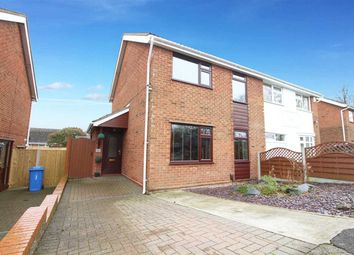 Thumbnail 4 bed semi-detached house for sale in Sawston Close, Ipswich