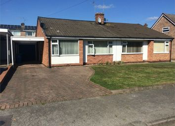 Thumbnail 2 bed semi-detached bungalow to rent in Windsor Road, Carlton-In-Lindrick, Worksop, Nottinghamshire