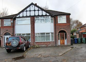 Thumbnail 3 bed semi-detached house for sale in Penrhyn Drive, Prestwich, Manchester