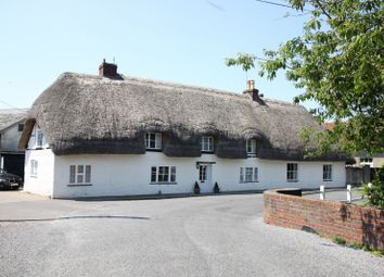 Thumbnail 4 bedroom detached house for sale in St Mary Bourne, Andover, Hampshire
