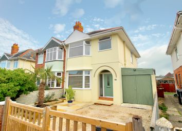 Thumbnail 3 bedroom semi-detached house for sale in Newcombe Road, Southbourne, Bournemouth