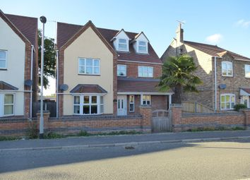 Thumbnail 6 bed detached house for sale in High Road, Elm, Wisbech