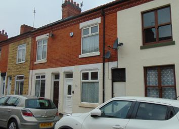 Thumbnail 2 bed terraced house to rent in Bolton Road, Leicester