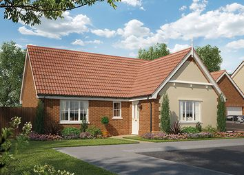 Thumbnail 2 bedroom detached bungalow for sale in Harvey Lane, Dickleburgh, Diss, Suffolk