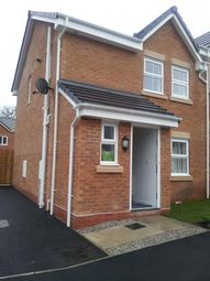 Thumbnail 3 bed semi-detached house to rent in Hirwaun, Wrexham, Wrexham