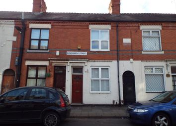 Thumbnail 2 bed terraced house to rent in Bonchurch Street, Leicester