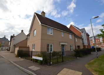 Thumbnail 3 bed terraced house to rent in William Harris Way, Colchester
