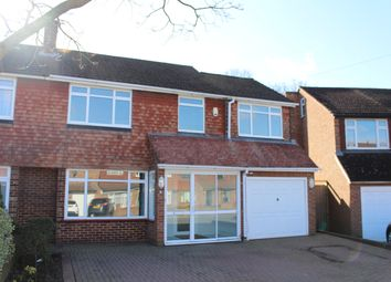 Thumbnail 4 bed semi-detached house to rent in Hollingworth Road, Petts Wood