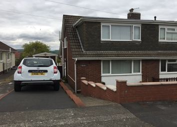 Thumbnail 3 bedroom property to rent in Penrhiw Road, Morriston, Swansea