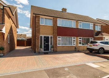 Thumbnail 3 bedroom semi-detached house for sale in Clipper Crescent, Gravesend