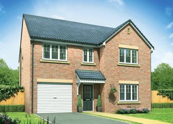 "Thumbnail 4 bed detached house for sale in ""The Harley"" at Kirk Ley Road, East Leake, Loughborough"