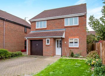 Thumbnail 4 bedroom detached house for sale in Brook Lane, Farcet, Peterborough