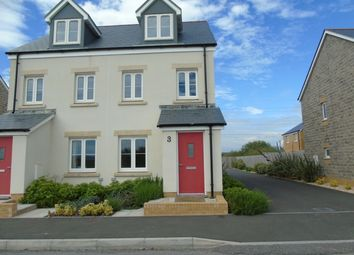 Thumbnail 3 bed semi-detached house to rent in Ffordd Y Meillion, Llanelli