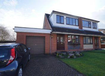 Thumbnail 3 bed semi-detached house for sale in Fryent Close, Blackrod, Bolton