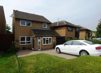 Thumbnail 3 bed detached house for sale in Favell Drive, Furzton, Milton Keynes