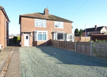 Thumbnail 3 bed semi-detached house for sale in Second Avenue, Stafford