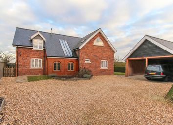 Thumbnail 4 bed detached house to rent in East Fen Road, Isleham, Ely