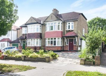 Thumbnail 3 bed semi-detached house for sale in Shirley Avenue, Shirley, Surrey