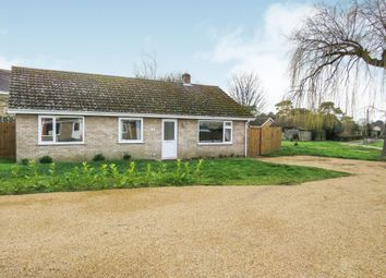 Thumbnail 3 bedroom detached bungalow for sale in Willow Close, Holywell Row, Bury St. Edmunds