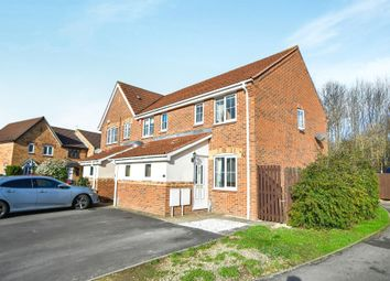 Thumbnail 2 bed semi-detached house for sale in March Close, Swindon