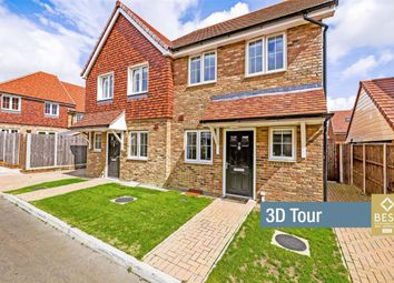 Thumbnail 2 bed semi-detached house for sale in Woodacres Way, Hailsham