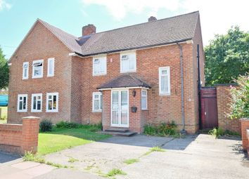 Thumbnail 3 bed semi-detached house for sale in Laburnum Way, Bromley