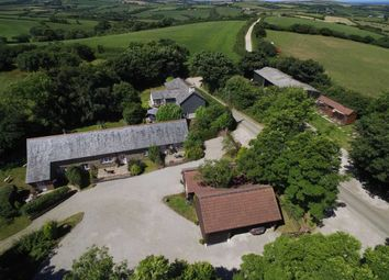 Thumbnail 6 bedroom farm for sale in Week St. Mary, Holsworthy