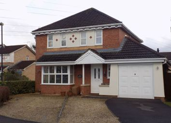Thumbnail 4 bedroom detached house for sale in Bicton Road, Swindon