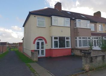 Thumbnail 3 bed end terrace house for sale in Mornington Road, Greenford, Middlesex, Greater London
