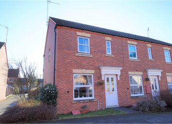 Thumbnail 2 bed end terrace house for sale in Pasture Way, Warwick