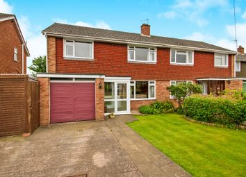 Thumbnail 4 bed semi-detached house for sale in Newlands Road, Ruishton, Taunton