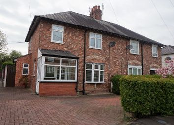 Thumbnail 3 bed semi-detached house for sale in West Avenue, Heald Green