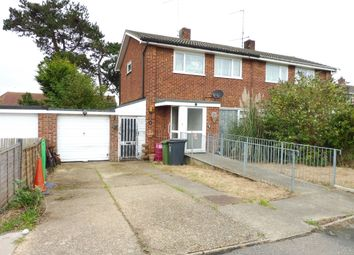 Thumbnail 3 bed semi-detached house for sale in Barton Way, Ormesby, Great Yarmouth