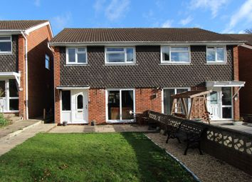 Thumbnail 3 bed semi-detached house for sale in Kingsfield Gardens, Bursledon, Southampton