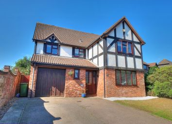 Thumbnail 4 bed detached house for sale in Shepherd Way, Norwich