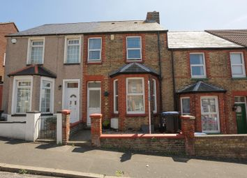 Thumbnail 4 bed terraced house for sale in Hengist Avenue, Margate