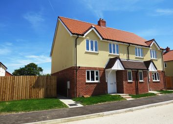 Thumbnail 3 bedroom semi-detached house to rent in Silvertree Way, Chedburgh, Bury St. Edmunds