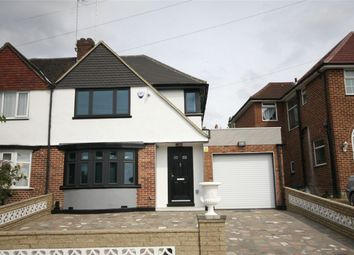 Thumbnail 3 bed semi-detached house to rent in Alverstone Road, Wembley, Greater London