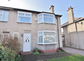 Thumbnail 4 bed semi-detached house for sale in Ashburton Avenue, Oxton, Wirral