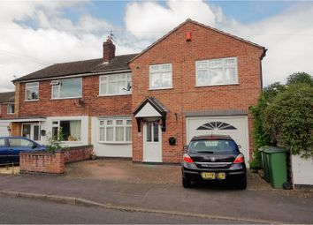 Thumbnail 4 bed semi-detached house for sale in Ivanhoe Close, Glenfield