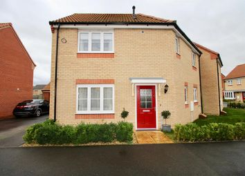Thumbnail 3 bed detached house for sale in Millport Drive, Eye, Peterborough